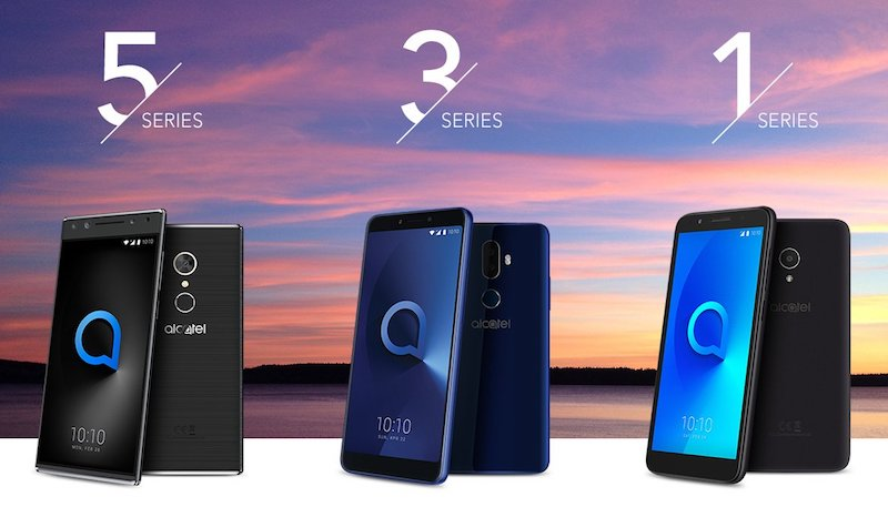 Alcatel 5, Alcatel Series 3 y Alcatel Series 1