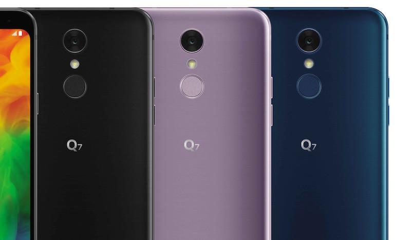 LG Q7, LG Q7 Alpha y LG Q7 Plus
