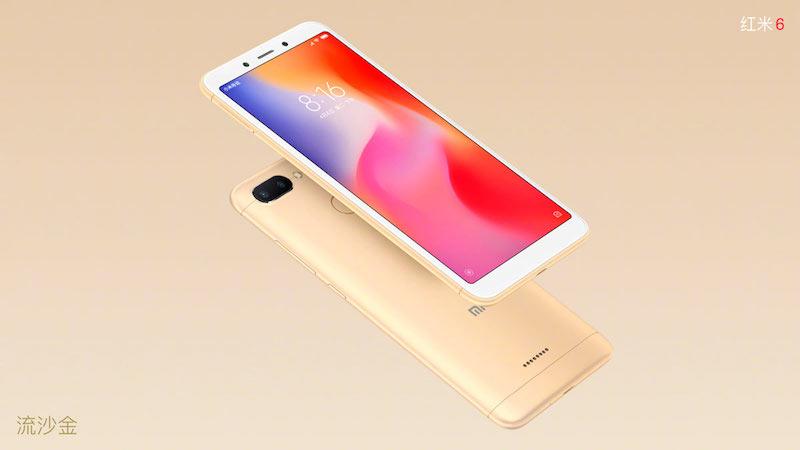 Xiaomi Redmi 6 y Xiaomi Redmi 6A