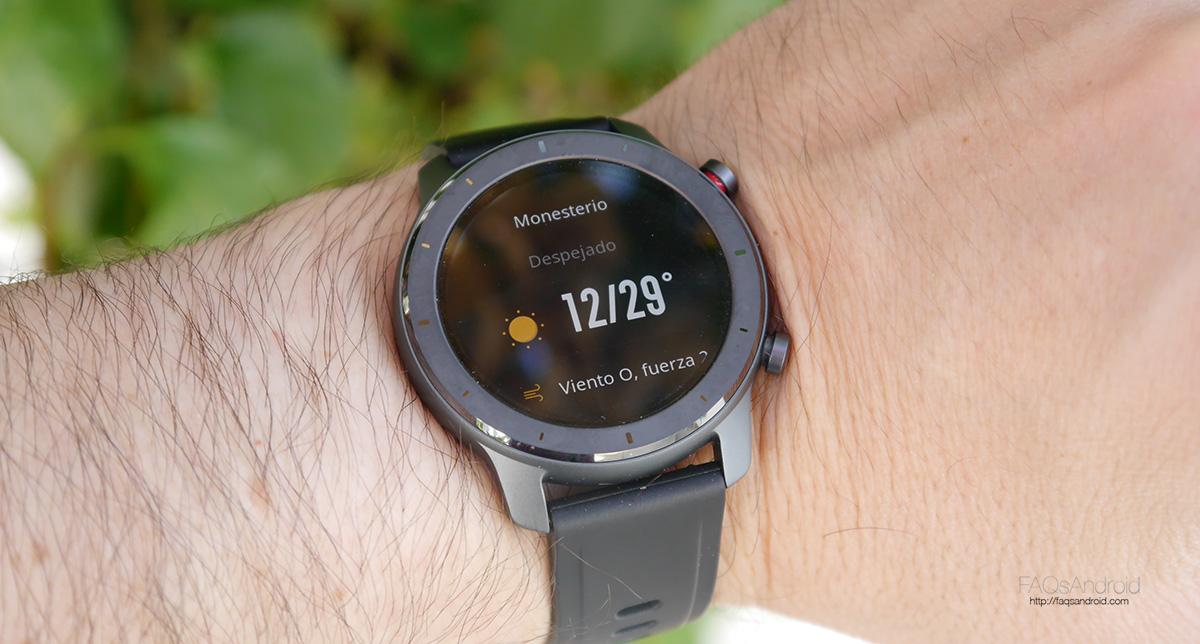 Xiaomi Amazfit GTR: el reloj inteligente bueno, bonito y barato