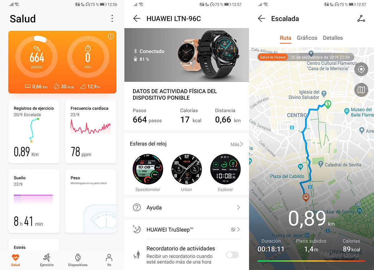 Análisis Huawei Watch GT 2: un reloj de batería de impresión